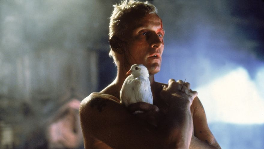 Roy Batty en la escena final de 'Blade Runner'