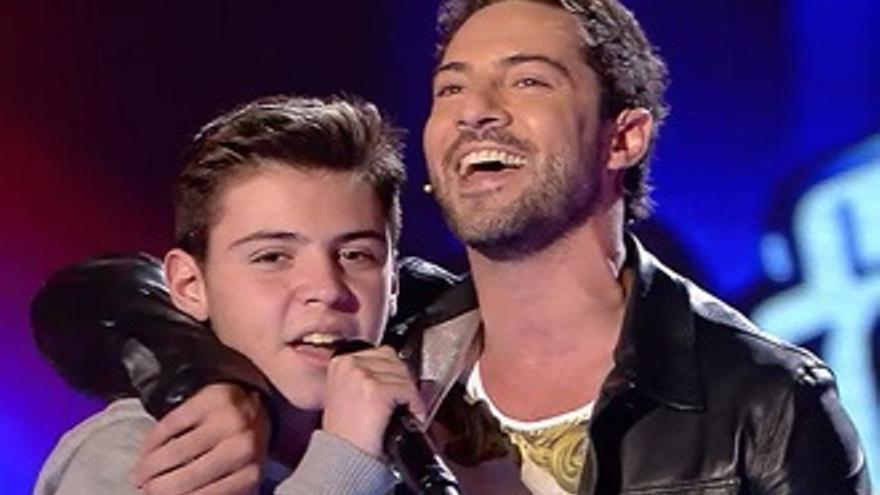 'La Voz Kids' también canta con éxito en la noche de Boing