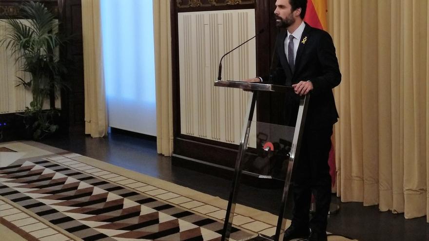 "Torrent reitera que Puigdemont es ""el único candidato"" a presidir la Generalitat"