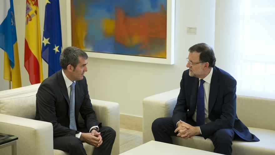 Rajoy se reúne mañana en Moncloa con Coalición Canaria dentro de su ronda para intentar formar gobierno