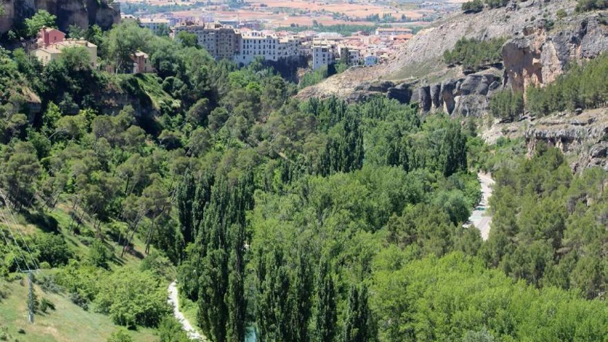 Panorámica de la Hoz del Júcar en Cuenca