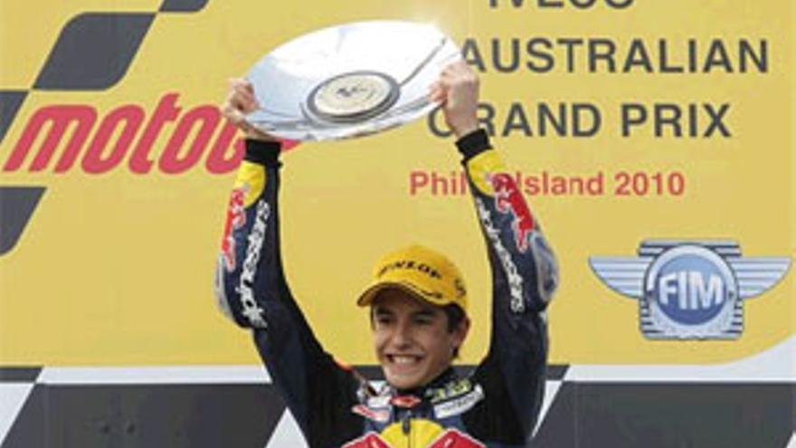 El piloto español Marc Márquez.