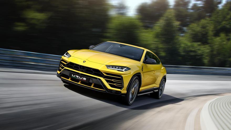 La poderosa impronta del nuevo Lamborghini Urus.