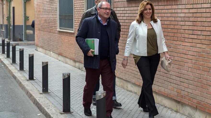 El PSOE andaluz reitera su apoyo a la candidatura de Sánchez