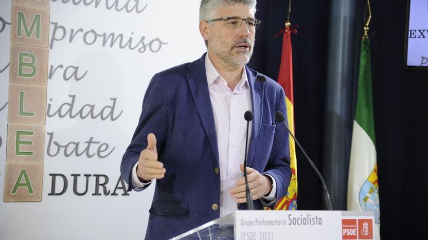 Valentín García durante sus críticas contra el ministro Montoro