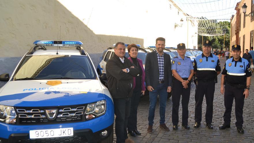 La Policía de La Laguna estrena 9 vehículos