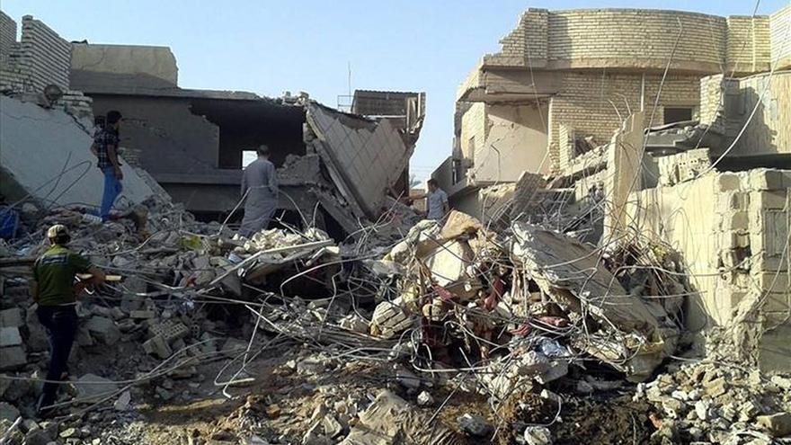 Al menos 1.465 miembros del EI muertos por bombardeos de la coalición en Siria