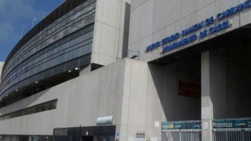 Imagen del estadio, de propiedad municipal.