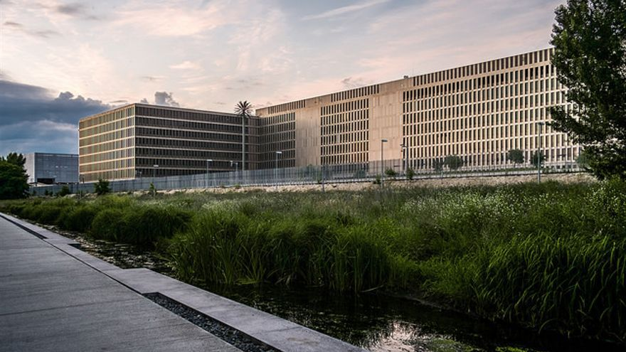 El Bundesnachrichtendiest,en Berlín