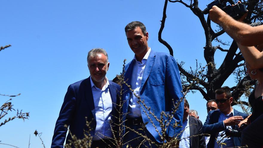 Visita de Pedro Sánchez a Gran Canaria. (Ángel Sarmiento)