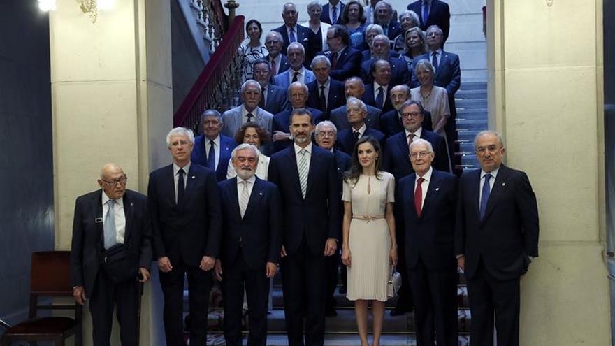 La RAE presenta a los Reyes los preparativos del próximo Congreso de la Lengua