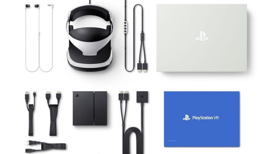 El kit completo de PlayStation VR