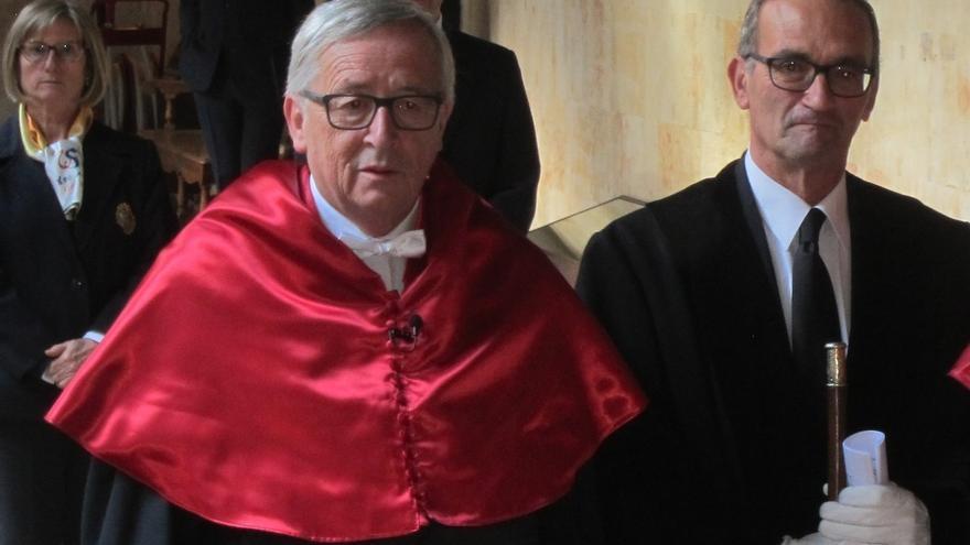 """Juncker afirma que """"los nacionalismos son un veneno que impiden que Europa trabaje de forma conjunta"""""""