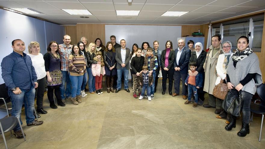 Navarra acoge ya a un grupo de 16 personas refugiadas procedentes de Siria, Ucrania, Jordania y Honduras