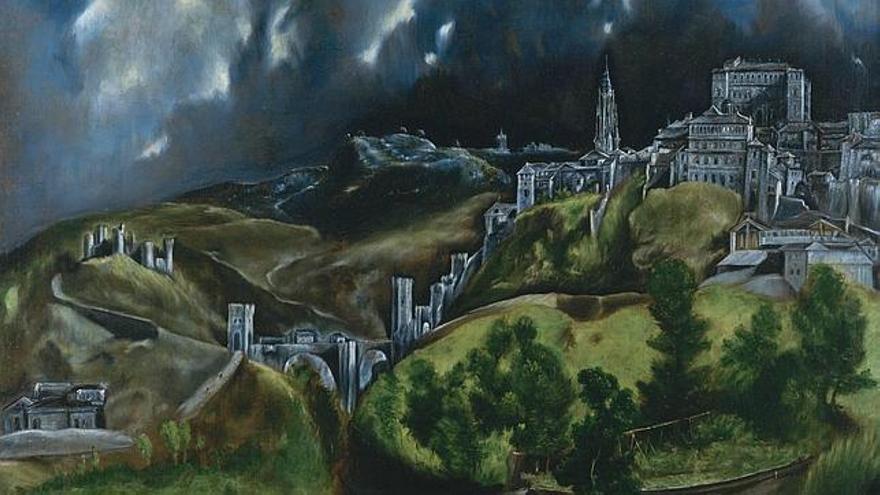 'Vista de Toledo', del Greco