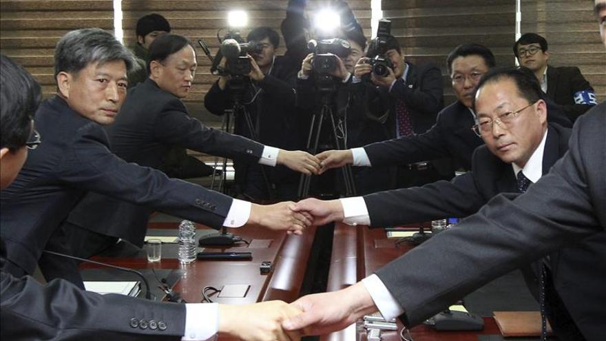 Las dos Coreas retoman su reunión de alto nivel para acercar posiciones