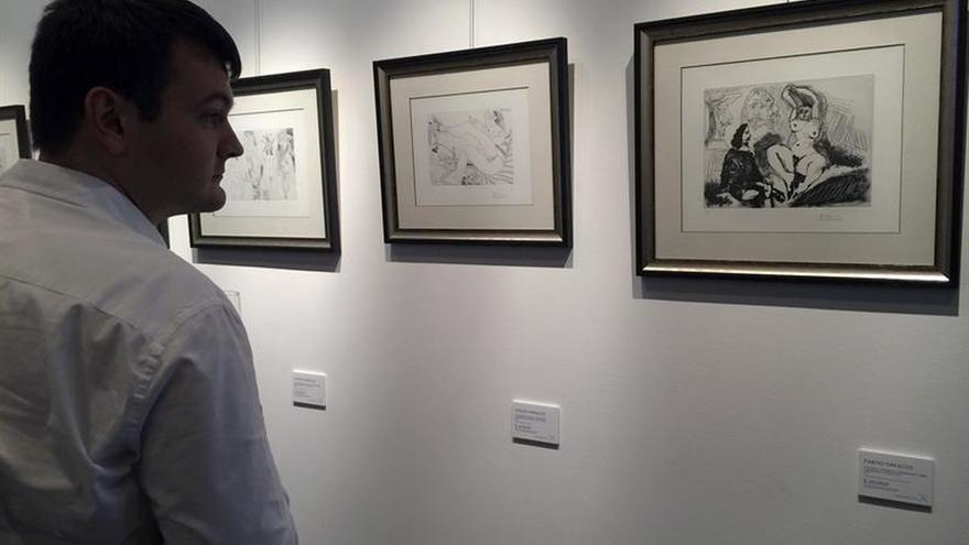 Una muestra de grabados desconocidos trae a Moscú las pasiones de Picasso
