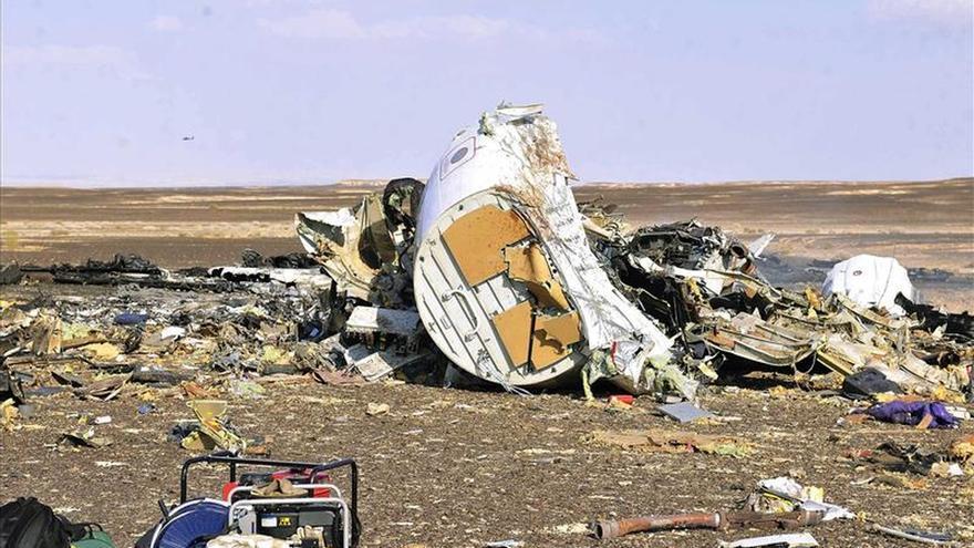 Expertos rusos llegan a Egipto para seguir investigando el siniestro del avión