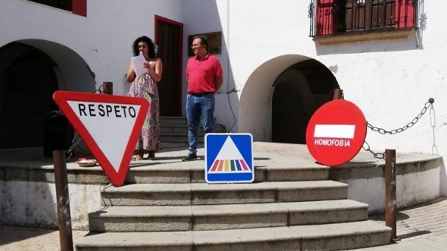 Señales LGTBI en Casar de Cáceres