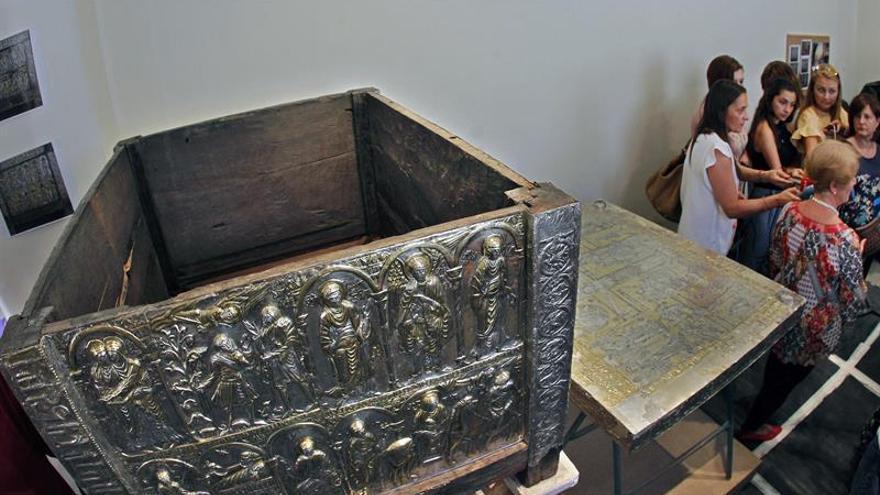 El Arca Santa de Oviedo, lista para su exposición tras su restauración