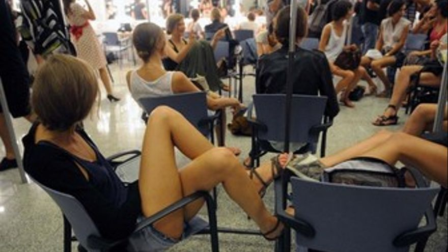 'Backstage' de Moda Cálida. (ACFI PRESS)