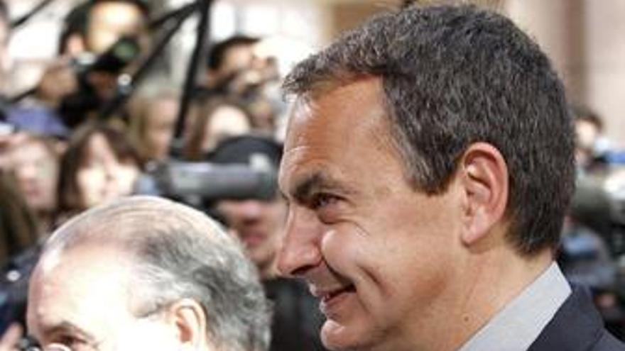 Zapatero y Solbes en la Cumbre de la UE