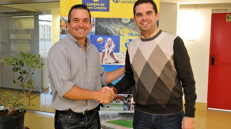 Lucas Bravo de Laguna tras el acuerdo por el campo de béisbol de Gran Canaria.