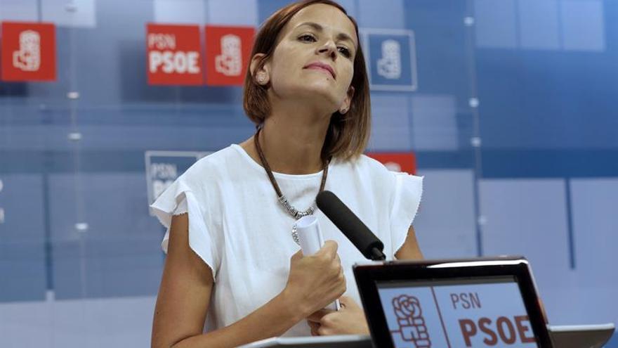 Chivite (PSN) muestra el apoyo a Sánchez de Ejecutiva navarra y de militancia