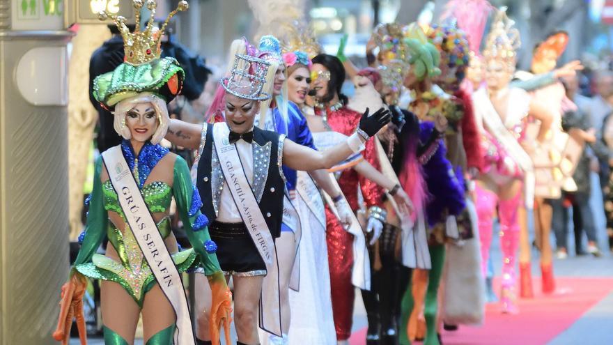 Participantes del Carnaval de Las Palmas de Gran Canaria.
