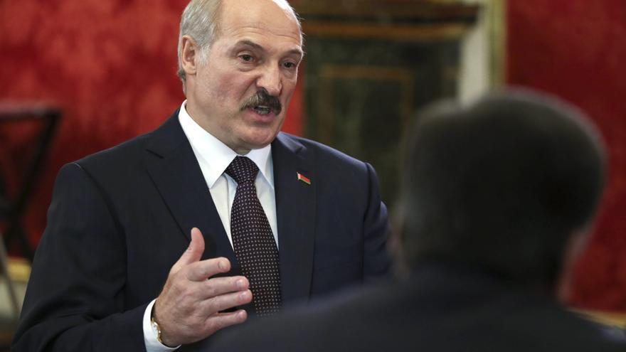 El presidente bielorruso, Alexandr Lukashenko.