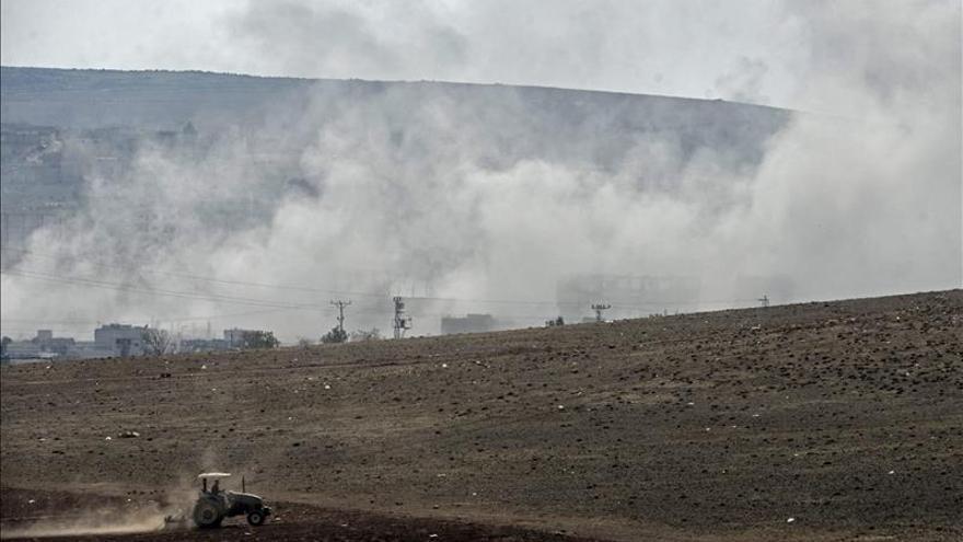 Mueren 50 yihadistas y 23 combatientes kurdos y rebeldes en Kobani