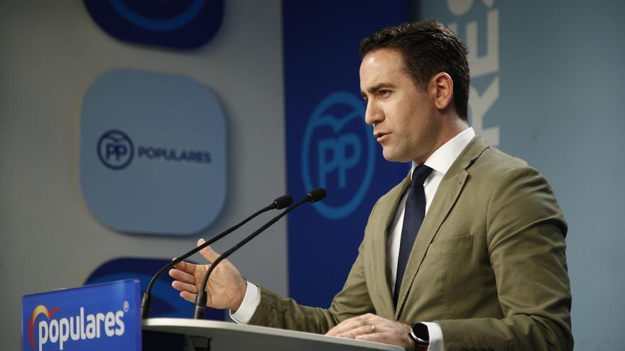 """García Egea avisa a Vox que """"no se entiende"""" que vote con PSOE y Podemos en Murcia pero trabajará para lograr acuerdo"""
