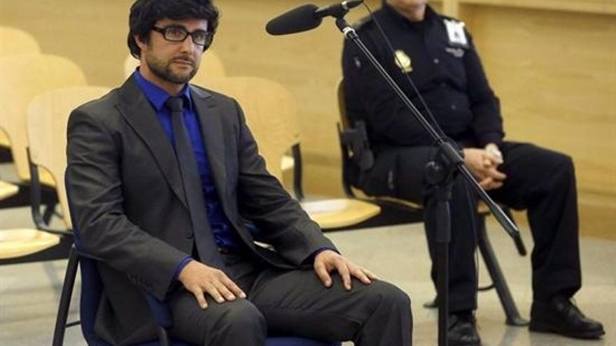 Hervé Falciani durante la vista en la Audiencia Nacional sobre su extradición a Suiza / Foto: EUROPA PRESS