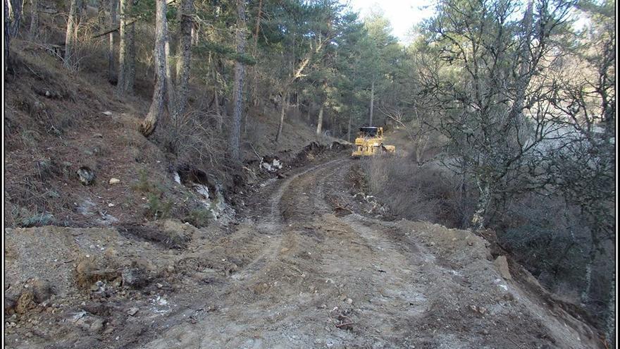 Camino de Cuenca denunciado por Ecologistas en Acción