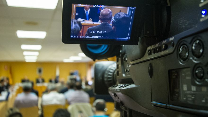 Medios en el juicio del caso Las Teresitas.