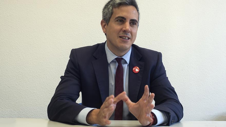 Pablo Zuloaga, candidato del PSOE a la Presidencia de Cantabria. | JOAQUÍN GÓMEZ SASTRE