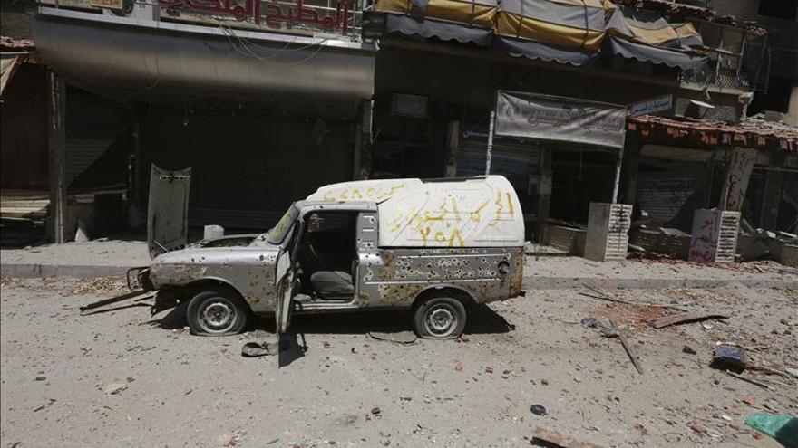 Al menos once seguidores del régimen mueren en choques al noreste de Damasco