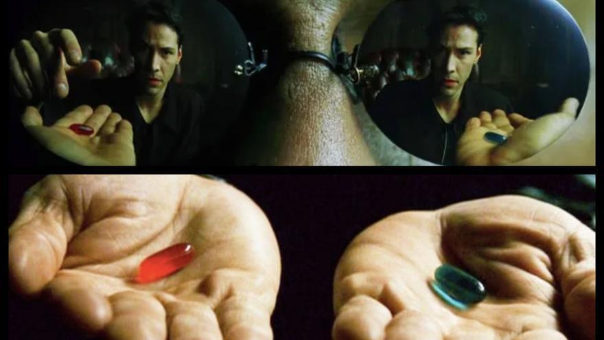 La píldora roja: el meme de la extrema derecha que se viraliza entre los negacionistas del coronavirus