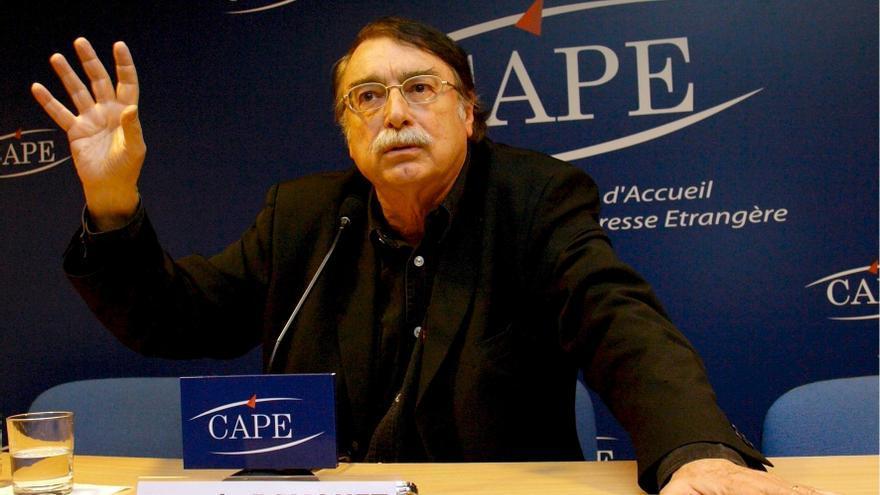 Ignacio Ramonet sociólogo semiólogo, especialista en geopolítica y profesor de Teoría de la Comunicación