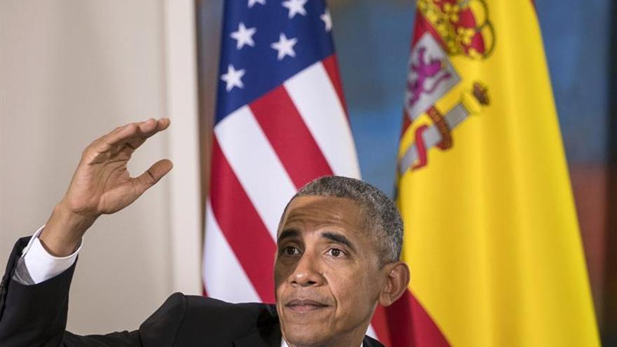 Obama confía en ver pronto una Venezuela más estable y una Colombia en paz