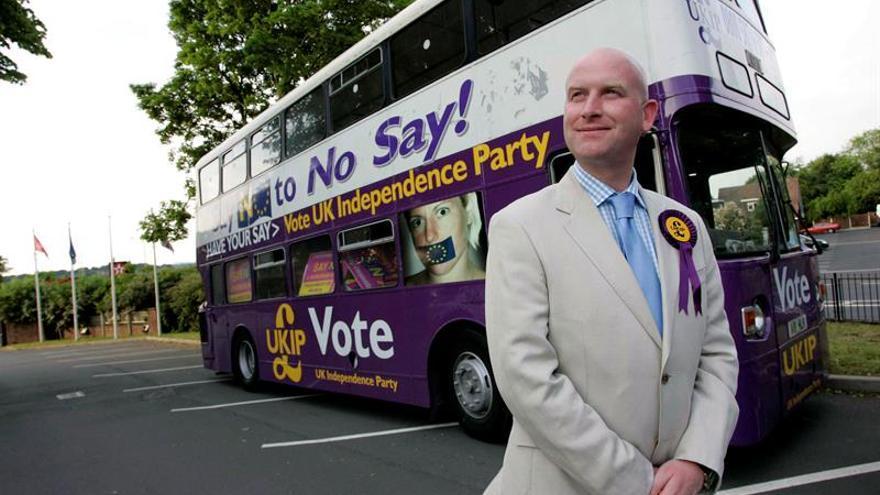 Paul Nuttall es el nuevo líder del eurófobo UKIP
