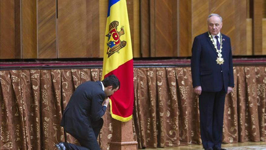 El Parlamento de Moldavia aprueba nuevo gobierno encabezado por un empresario