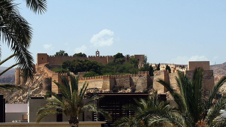 La Alcazaba de Almería. / JUAN MIGUEL BAQUERO