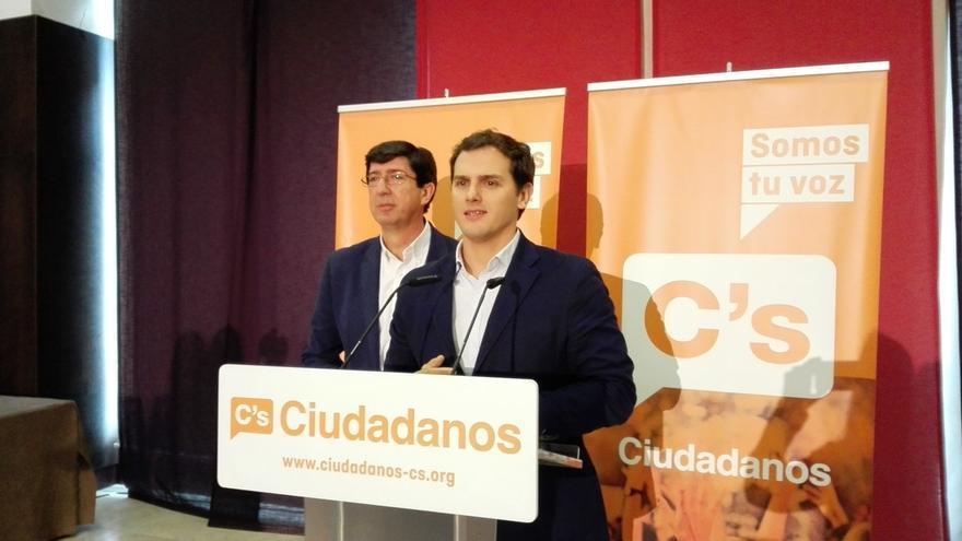 """Ciudadanos no pactará con PSOE-A ni PP-A si no dan """"un giro de 180 grados"""""""