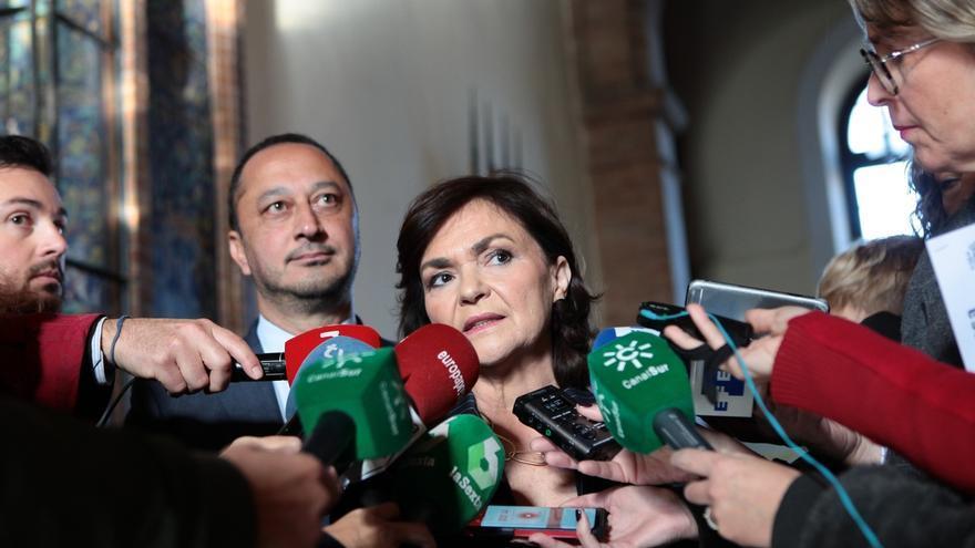 """Calvo: Lo ocurrido en Cataluña """"es inadmisible y tendrá consecuencias"""", pero el 155 es """"la última medida a que llegar"""""""