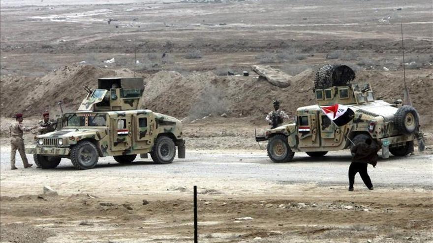 Secuestran a cuatro soldados iraquíes en Faluya tras una represión de protestas