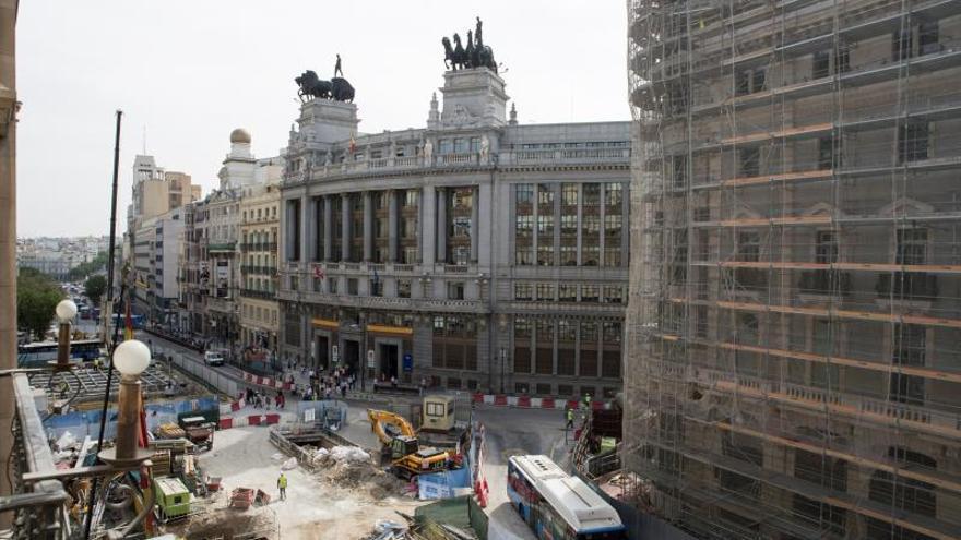 El Ayuntamiento: No hay ningún daño que se pueda achacar a las obras de Canalejas