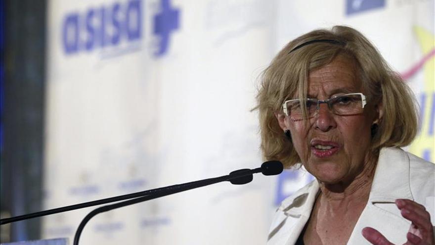 """Manuela Carmena dice a Albert Rivera que la """"experiencia"""" no se puede perder"""