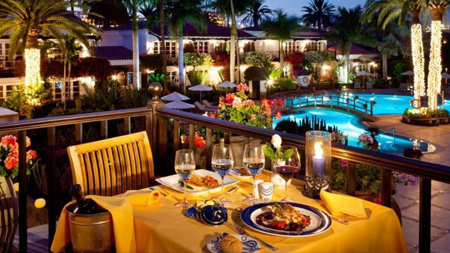 Restaurante del hotel Seaside Grand Hotel Residencia