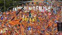 La Generalitat entierra la Diada de Maragall y diseña una ceremonia a medida del independentismo
